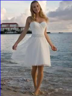 Short wedding dress sexy little white dress bridesmaid gown prom