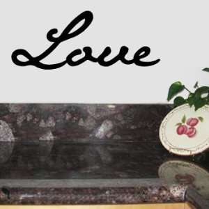 LOVE Wall Room Decal Sticker Decor Wedding Romance Gift