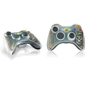 Pirate Skull Vinyl Skin for 1 Microsoft Xbox 360 Wireless Controller