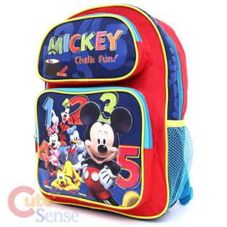 Disney Mickey Mouse & Friends School Backpack/Bag  14M