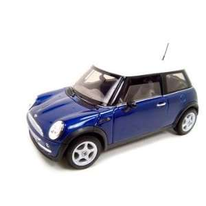 Mini Coper Coupe Blue Diecast Model 118 Die Cast Car Toys & Games