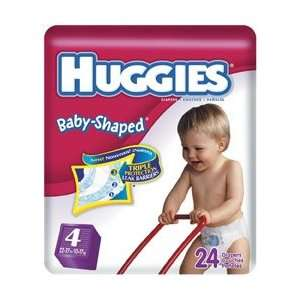 Huggies Baby Shaped Disposable Diapers (Case): Health