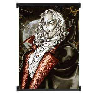 Castlevania Symphony of the Night Game Fabric Wall Scroll