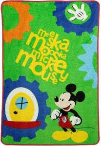 Disney Mickey Mouse Fleece Baby Blanket