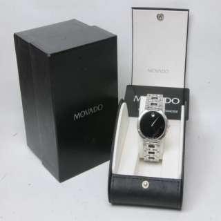 MENS MOVADO ESTIMO 84 G1 1899 STAINLESS STEEL WRIST WATCH W233001