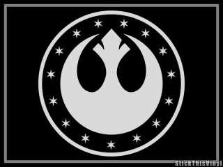 New Republic Kailmdor Star Wars Logo Decal Sticker (2x)