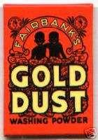 GOLD DUST Soap Twins MIRROR Black Negro advertising
