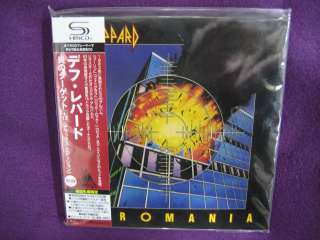 Def Leppard / Pyromania JAPAN MINI LP SHM DELUXE 2 CD NEW