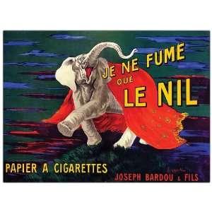 Je Ne Fume Que Le Nil by Leonetto Cappiello Framed 24x32