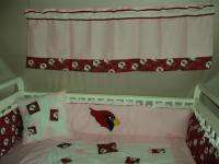 PINK Baby Nursery Crib Bedding Set w/Dallas Cowboys