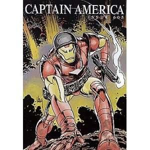 Captain America (2004 series) #605 IRON MAN Marvel Books