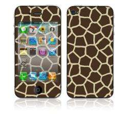 Giraffe Print Apple iPhone 4 Vinyl Skin