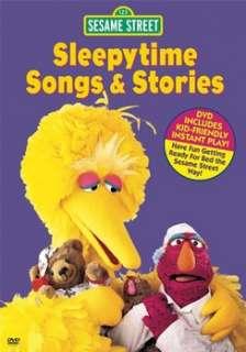Sesame Street   Bedtime Stories and Songs (DVD)