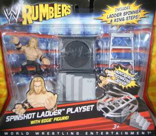 SPINSHOT LADDER ACCESSORY   WWE RUMBLERS TOY WRESTLING ACTION FIGURES