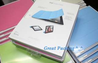 Slim Magnetic Leather Smart Case Cover for Apple iPad 2 8 colors are