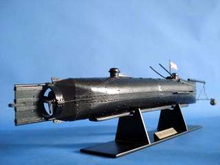 HL Hunley 24 Civil War Scale Model Submarine NO KIT