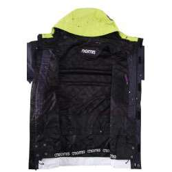 Nomis Mens Tony Black Splatter Snowboard Jacket