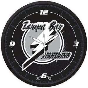 Tampa Bay Lightning NHL Round Wall Clock