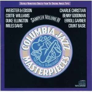 CBS Jazz Masterpieces 3 Sampler Various Artists Music