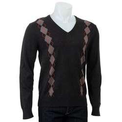 Ben Sherman Mens Daquiri Argyle Sweater