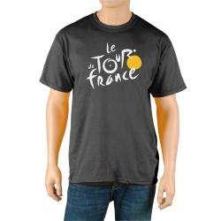 Le Tour de France Mens Black Cotton Official T Shirt