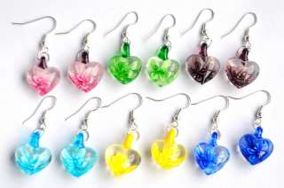 Lampwork Glass Pendant Necklace Earrings Set Choose Group