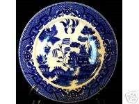 NOLEX JAPAN ANTIQUE BLUE WILLOW 9 INCH PLATE