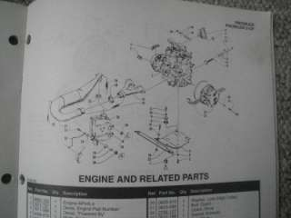 1994 Arctic Cat Snowmobile Parts Manual Catalog Prowler