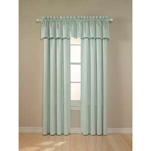 Darkness   Suede Black Out Curtain Panel, Baby Dot Print Baby Blue