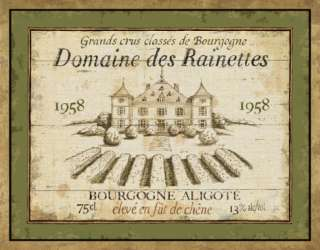 French Wine Labels III Prints by Daphne Brissonnet at AllPosters