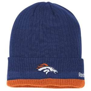 Denver Broncos Reebok 2010 Coaches Sideline Cuffed Knit