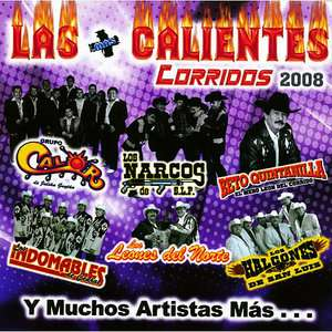 Las Mas Calientes Corridos 2008, Various Artists