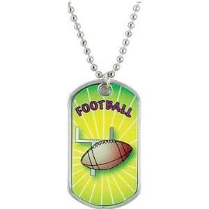 Football Dog Tags   Colorful Tags FOOTBALL Everything