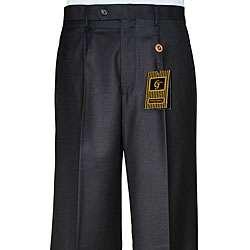 Giorgio Fiorelli Mens Black Single pleat Dress Pants