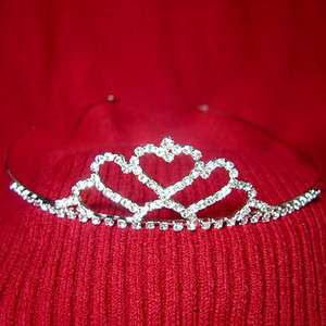 crown Rhinestone hair tiara headband wedding bridal