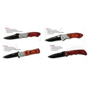 Set of 4 MTech 440 Stainless Steel Hunting Knives Sports