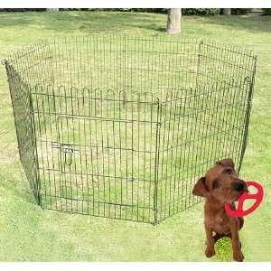30 8 Panel Light Duty Pet Dog Portable Exercise Playpen