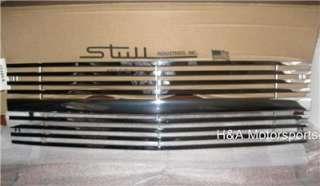 88 93 TRUCK C CAB C/K SILVERADO SUBURBAN BLAZER GRILL HORIZONTAL STEEL