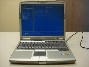 DELL LATITUDE D610 PP11L Laptop Pentium M, 1.73 GHz, 1 GB RAM, 14 inch