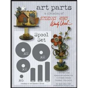 Wendy Vecchi Art Parts Spool Set: Home & Kitchen