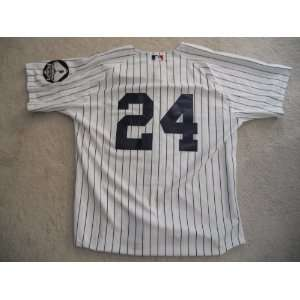 New York Yankees Robinson Cano Home Jersey w/ Memorial Patches size