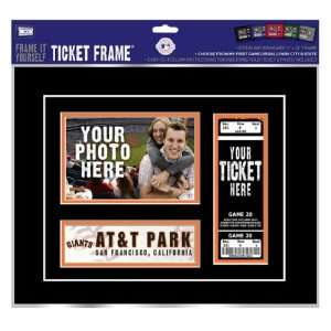 San Francisco Giants Game Day Ticket Frame Frame It