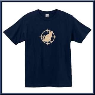 Flock RUDE Crosshairs Dead Cat Shirt S L,XL,2X,3X,4X,5X