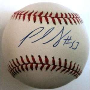 Paul Shuey Signed Baseball   Official A l W coa