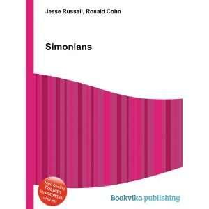 Simonians Ronald Cohn Jesse Russell Books