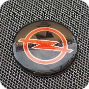 2917bkrdb1f1 opel 56mm 5.6cm black red center wheel hub cap aluminium