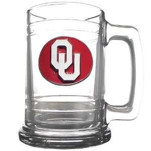 NCAA Oklahoma Sooners Logo Tankard: Sports & Outdoors