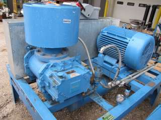 ROOTS DRESSER BLOWER PACKAGE MODEL 412 RAM, 50 HP