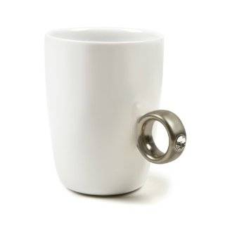 2 Carat Cup, Gold Diamond Ring Coffee Mug Kitchen