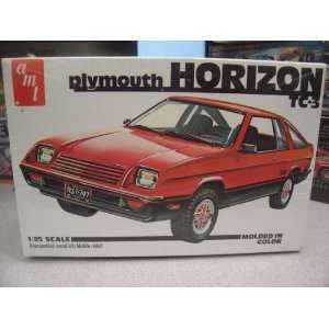 AMT Plymouth Horizon TC 3 1/25 Scale Plastic Model Kit,Needs Assembly